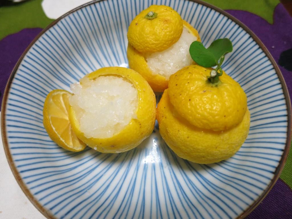 IMG_6268柚子シャーベット